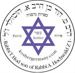 Kosher Zertifikat