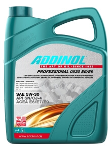 ADDINOL PROFESSIONAL 0530 E6-E9