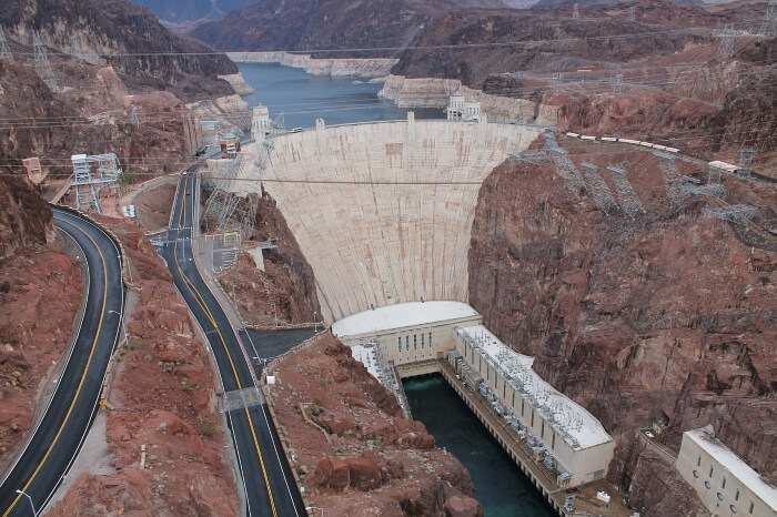 Hover dam near Las Vegas