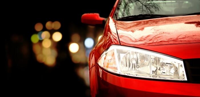 Renault Megane at night